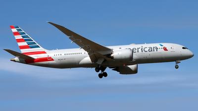 A picture of N817AN - Boeing 7878 Dreamliner - American Airlines - © Eddie Heisterkamp