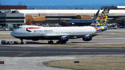 G-BDXG - Boeing 747-236B - British Airways