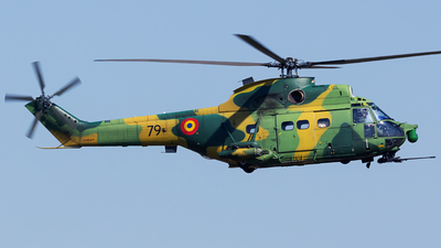 79 - IAR-330L Puma SOCAT - Romania - Air Force