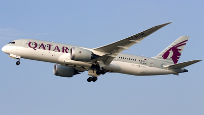 A7-BCW - Boeing 787-8 Dreamliner - Qatar Airways