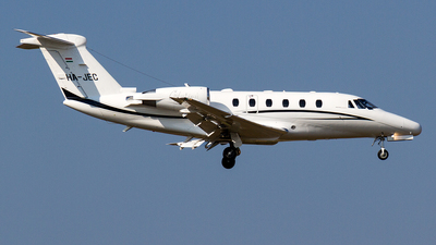 HA-JEC - Cessna 650 Citation VII - Private