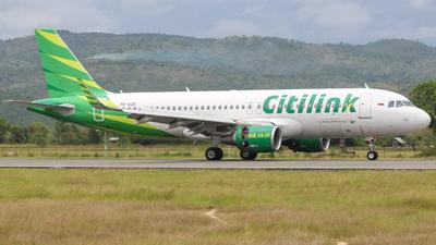 PK-GQS - Airbus A320-214 - Citilink
