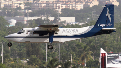 A picture of N520BN - BrittenNorman BN2B20 - [2240] - © Angel Natal