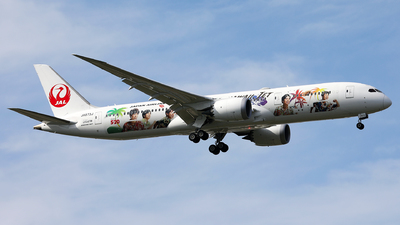 JA873J - Boeing 787-9 Dreamliner - Japan Airlines (JAL)