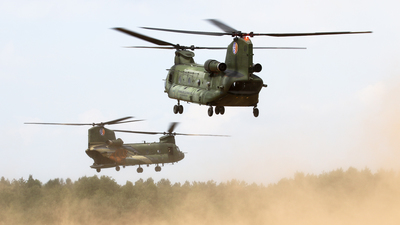 D-102 - Boeing CH-47D Chinook - Netherlands - Royal Air Force