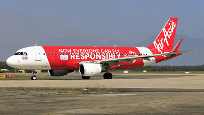 A picture of HSBBH - Airbus A320216 - AirAsia - © photogiap