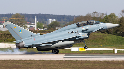 31-25 - Eurofighter Typhoon EF2000(T) - Germany - Air Force