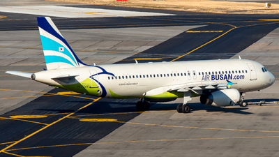 A picture of HL7745 - Airbus A320232 - Air Busan - © Lee Jihun