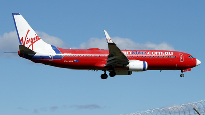 VH-VUA - Boeing 737-8FE - Virgin Blue Airlines