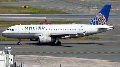 A picture of N829UA - Airbus A319131 - United Airlines - © OCFLT_OMGcat