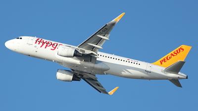 TC-DCB - Airbus A320-214 - Pegasus Airlines