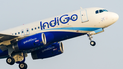 VT-IFG - Airbus A320-232 - IndiGo Airlines