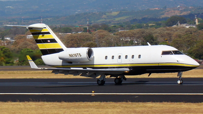 N619TS - Canadair CL-600-1A11 Challenger 600S - Private