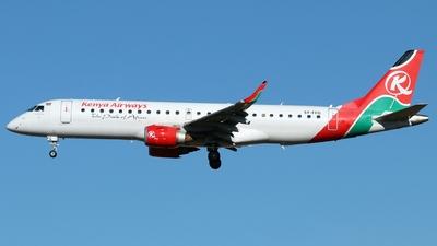 5Y-FFG - Embraer 190-100IGW - Kenya Airways