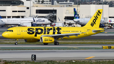 N615NK - Airbus A320-232 - Spirit Airlines