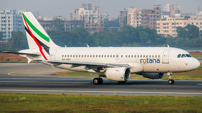 A6-RRC - Airbus A319-112 - Rotana Jet Aviation