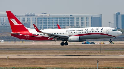 A picture of B1968 - Boeing 73786D - Shanghai Airlines - © H.C.