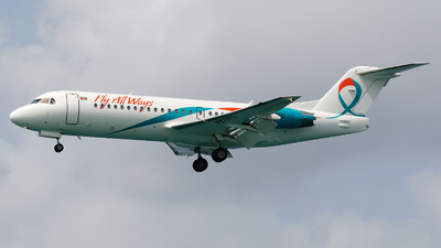 A picture of PZTFC - Fokker 70 - Fly AllWays - © Nito