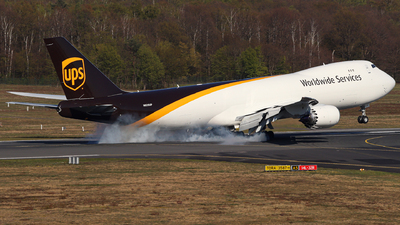 N626UP - Boeing 747-84AF - United Parcel Service (UPS)