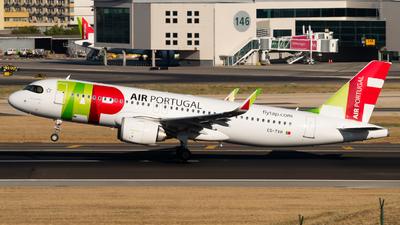 A picture of CSTVH - Airbus A320251N - TAP Air Portugal - © Lars Kaemena