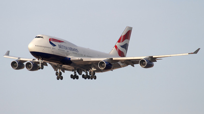 G-BNLW - Boeing 747-436 - British Airways
