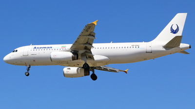 EP-ZAZ - Airbus A320-231 - Iran Aseman Airlines