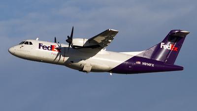 A picture of N914FX - ATR 42300(F) - FedEx - © Jeremy D. Dando