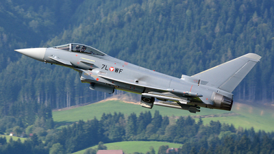 7L-WF - Eurofighter Typhoon EF2000 - Austria - Air Force
