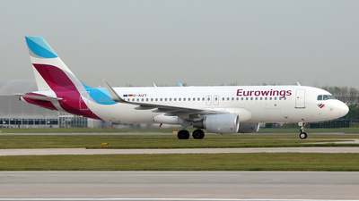 D-AIZT - Airbus A320-214 - Eurowings
