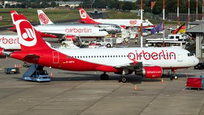 D-ABFN - Airbus A320-214 - Air Berlin
