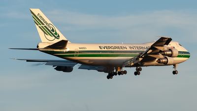 N485EV - Boeing 747-212B(SF) - Evergreen International Airlines