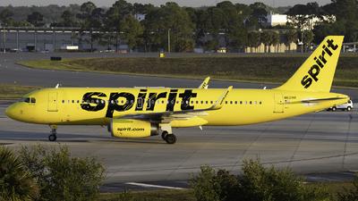 N621NK - Airbus A320-232 - Spirit Airlines