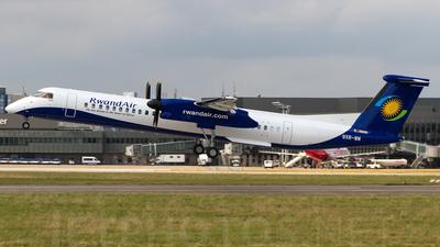 A picture of 9XRWM - De Havilland Canada Dash 8400 - RwandAir - © SF 340