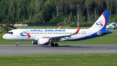 A picture of VPBRY - Airbus A320251N - Ural Airlines - © Ivan Goreza