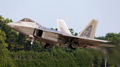08-4156 - Lockheed Martin F-22A Raptor - United States - US Air Force (USAF)