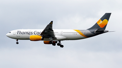 G-TCXC - Airbus A330-243 - Thomas Cook Airlines
