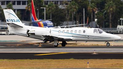 N793JS - Cessna 560 Citation Ultra - Private