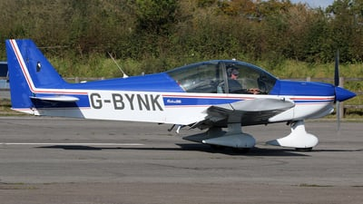 G-BYNK - Robin HR200/120B - Private