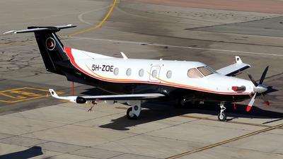 5H-ZOE - Pilatus PC-12/45 - Private