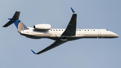 A picture of N25134 - Embraer ERJ145XR - [145714] - © Gabriel Mora