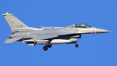 87-0312 - Lockheed Martin F-16C Fighting Falcon - United States - US Air Force (USAF)