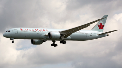A picture of CFGDX - Boeing 7879 Dreamliner - Air Canada - © Peter Baldwin