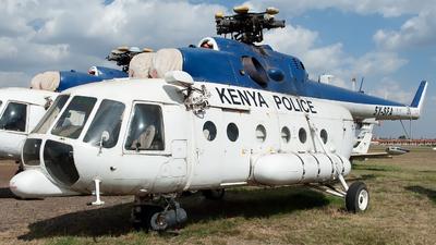 5Y-STA - Mil Mi-17V5 Hip H - Kenya - Police Air Wing