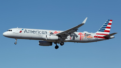 N162AA - Airbus A321-231 - American Airlines