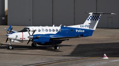 VH-PVE - Beechcraft B300 King Air 350ER - Australia - Victoria Police