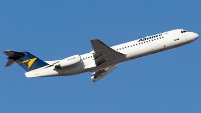 A picture of VHFKA - Fokker 100 - Alliance Airlines - © Joel Baverstock