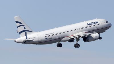 SX-DGO - Airbus A320-232 - Aegean Airlines