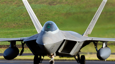 04-4081 - Lockheed Martin F-22A Raptor - United States - US Air Force (USAF)