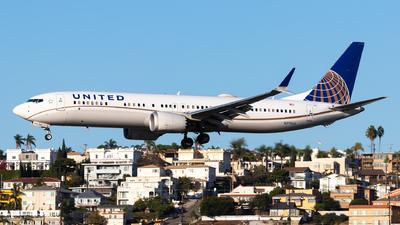N27509 - Boeing 737-9 MAX - United Airlines
