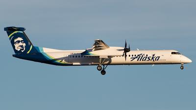 A picture of N441QX - De Havilland Canada Dash 8400 - Alaska Airlines - © SpotterPowwwiii